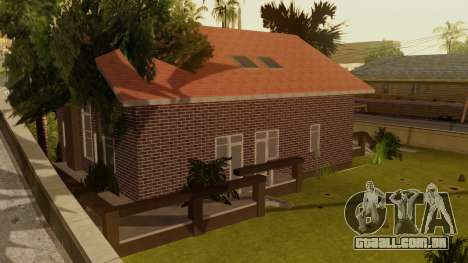 New Ryder House para GTA San Andreas terceira tela