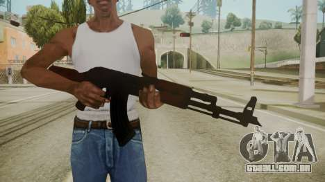 Atmosphere AK-47 v4.3 para GTA San Andreas