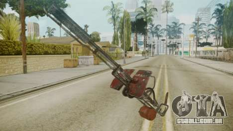 Atmosphere Flame Thrower v4.3 para GTA San Andreas