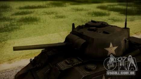 M4A3 Sherman para GTA San Andreas vista direita