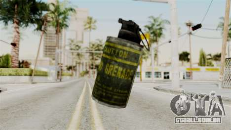 Grenade from RE6 para GTA San Andreas segunda tela