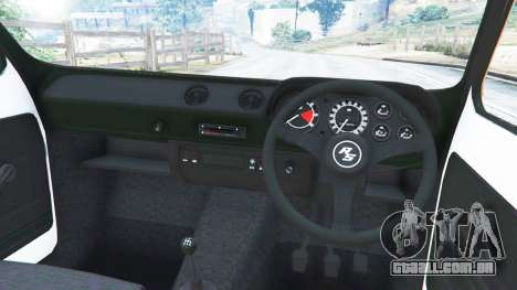 GTA 5 Ford Escort MK1 v1.1 [Hoonigan] traseira direita vista lateral