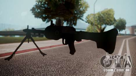 MG-34 Red Orchestra 2 Heroes of Stalingrad para GTA San Andreas terceira tela