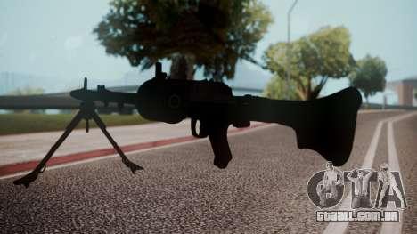 MG-34 Red Orchestra 2 Heroes of Stalingrad para GTA San Andreas terceira tela