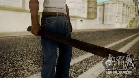 Machete from Friday the 13th Movie para GTA San Andreas