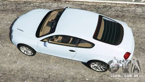 GTA 5 Bentley Continental Supersports [Beta] voltar vista