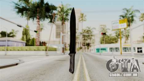 Knife from RE6 para GTA San Andreas segunda tela