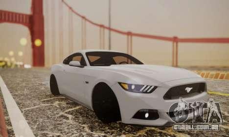 Ford Mustang GT 2015 Stock para GTA San Andreas