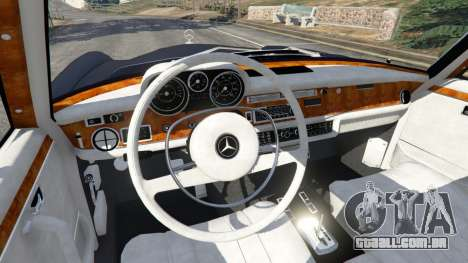 GTA 5 Mercedes-Benz 300SEL 6.3 v1.2.3 vista lateral direita