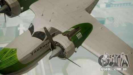 Grumman G-21 Goose DQAYL para GTA San Andreas vista direita