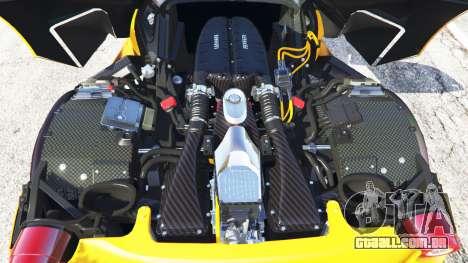 GTA 5 Ferrari LaFerrari 2015 voltar vista