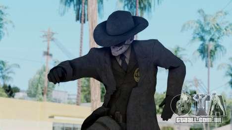 SkullFace Mask and Hat para GTA San Andreas