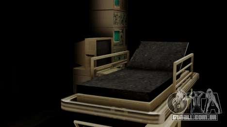 GTA 5 Brute Ambulance IVF para GTA San Andreas vista interior