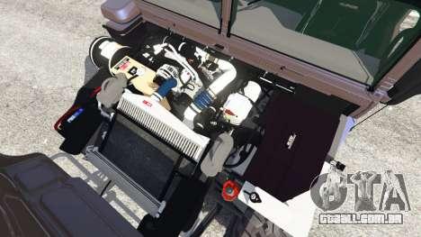 GTA 5 Hummer H1 v2.0 vista lateral direita