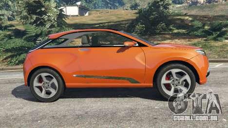 GTA 5 Lada XRAY vista lateral esquerda
