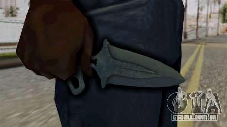 Sombra Punhal Ночь para GTA San Andreas terceira tela