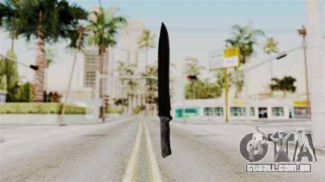 Knife from RE6 para GTA San Andreas