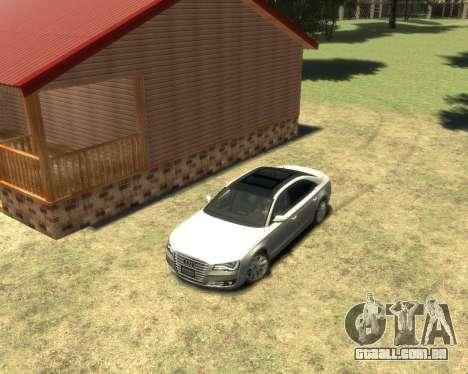 Audi A8L W12 2013 para GTA 4 esquerda vista