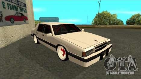 Willard Drift para GTA San Andreas esquerda vista