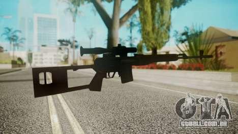 Sniper Rifle by EmiKiller para GTA San Andreas segunda tela