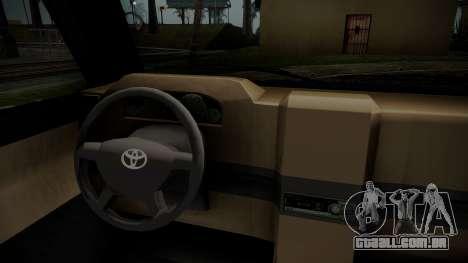 Toyota Kijang Tuned Stance para GTA San Andreas vista direita
