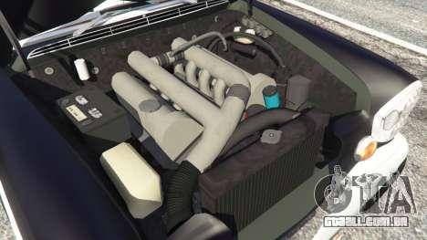 GTA 5 Mercedes-Benz 300SEL 6.3 v1.2.3 traseira direita vista lateral