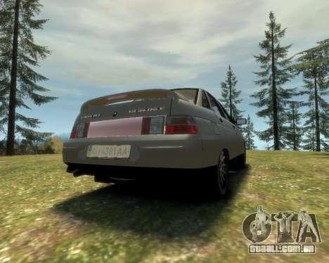 VAZ 21103 v1.1 para GTA 4 esquerda vista