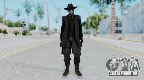 SkullFace Mask and Hat para GTA San Andreas segunda tela