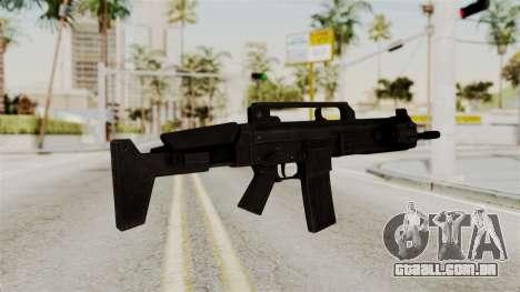 M4 from RE6 para GTA San Andreas segunda tela