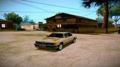 BMW 735il E32 1992 para GTA San Andreas