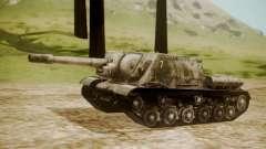 ISU-152 Snow from World of Tanks