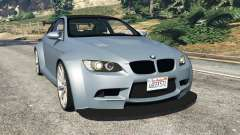 BMW M3 (E92) WideBody v1.0 para GTA 5