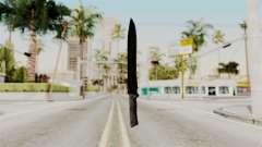 Knife from RE6 para GTA San Andreas