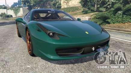 Ferrari 458 Italia 2009 v1.5 para GTA 5