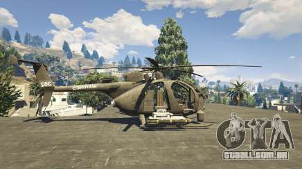 MH-6/AH-6 Little Bird Marine para GTA 5