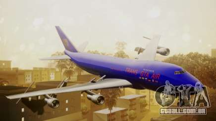 Boeing 747-200 Trans GTA Air para GTA San Andreas