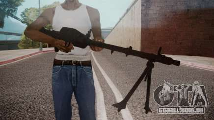 MG-34 Red Orchestra 2 Heroes of Stalingrad para GTA San Andreas
