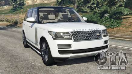 Range Rover Vogue 2013 v1.2 para GTA 5