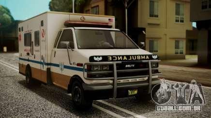GTA 5 Brute Ambulance IVF para GTA San Andreas