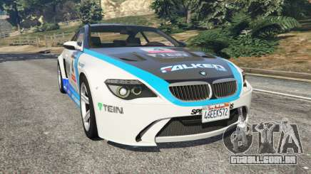 BMW M6 (E63) WideBody v0.1 [Volk Racing Wheel] para GTA 5