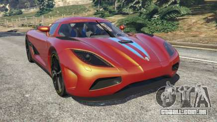 Koenigsegg Agera v0.8.5 [Early Beta] para GTA 5