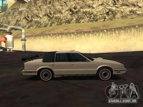 Chrysler New Yorker 1988 para o motor de GTA San Andreas