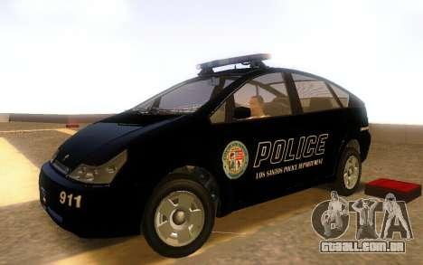 Karin Dilettante Police Car para GTA San Andreas