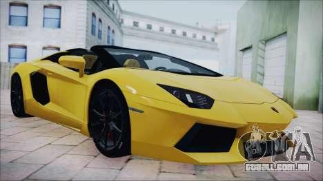 Lamborghini Aventador LP700-4 Roadster 2013 para GTA San Andreas