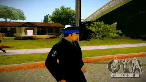 O funcionário do Ministério da Justiça v3 para GTA San Andreas terceira tela