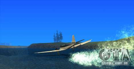 Water Effect para GTA San Andreas