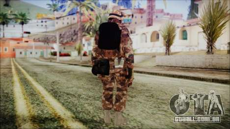 Chinese Army Desert Camo 3 para GTA San Andreas terceira tela
