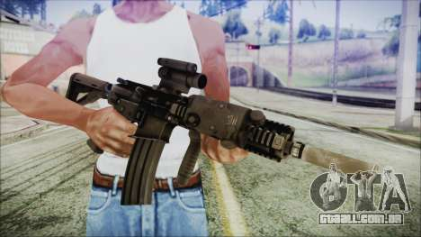 MK18 SEAL para GTA San Andreas terceira tela