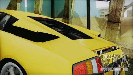 Lamborghini Murcielago 2005 Yuno Gasai IVF para o motor de GTA San Andreas