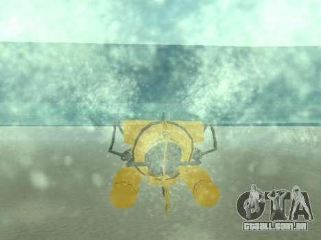 Submersível de GTA V para as rodas de GTA San Andreas